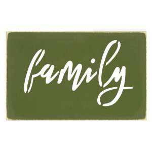 Family Cut Out Sign - 34518