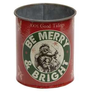 {[en]:Be Merry & Bright Metal Can